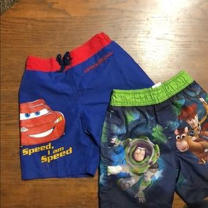 Other - 2 pair boys swim trunks